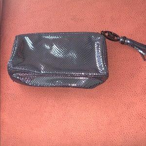 Gunmetal Michael Kors Cosmetic Bag-New w/o tags